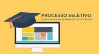 Processo seletivo para cursos de graduação a distância