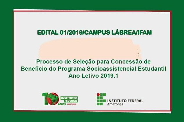 Programa Socioassistencial Estudantil 2019