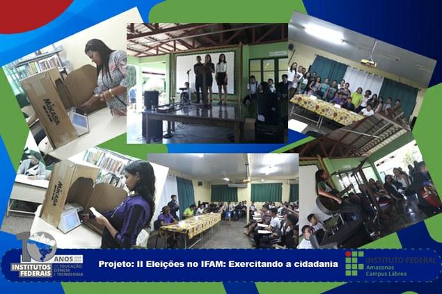 Projeto: II Eleições no IFAM: Exercitando a cidadania