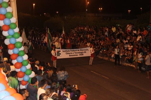Campus Maués no desfile cívico de 7 de setembro