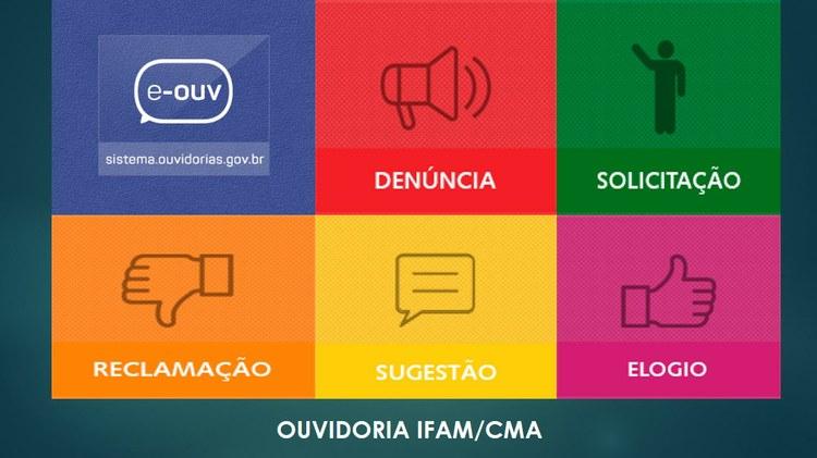 Comunicado da Ouvidoria do IFAM/CMA