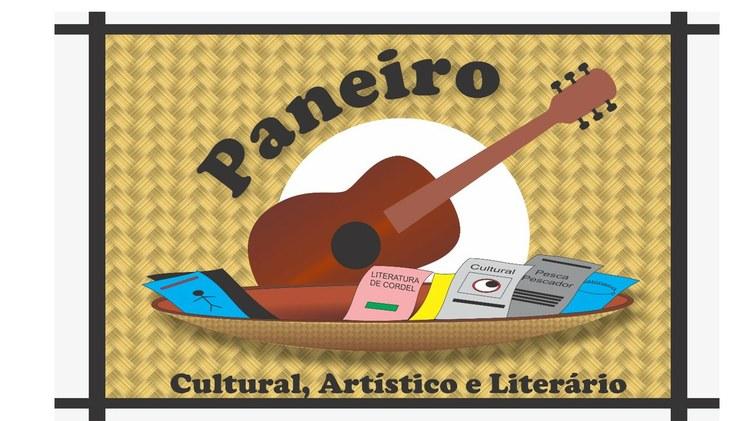"""Convite do projeto """"Paneiro Artístico, Cultura e Literário"""""""