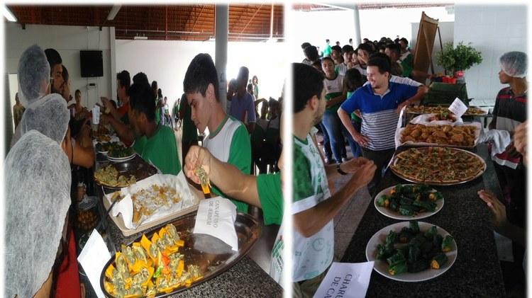 IFAM Campus Maués celebra a Semana Nacional de Alimentos Orgânicos com merenda produzida com Plantas Alimentícias Não Convencionais (PANC).