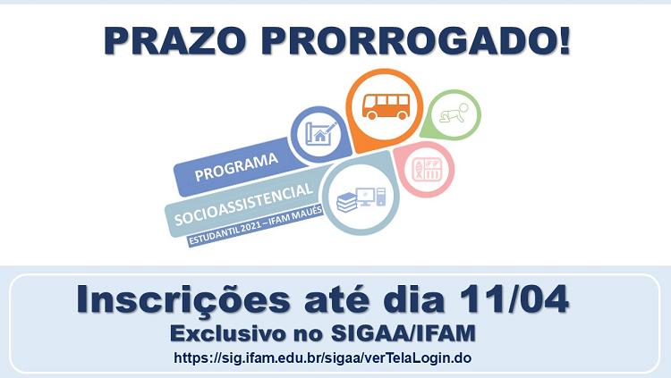 IFAM Maués prorroga inscrições para Assistência Estudantil