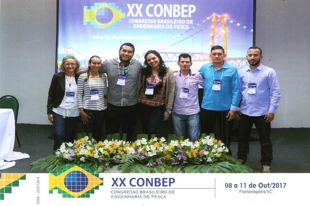 Alunos do Curso Técnico em Recursos Pesqueiros participam do XX CONBEP