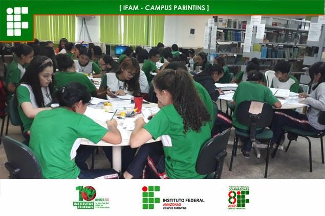 Alunos do IFAM Campus Parintins participam da OIMSF