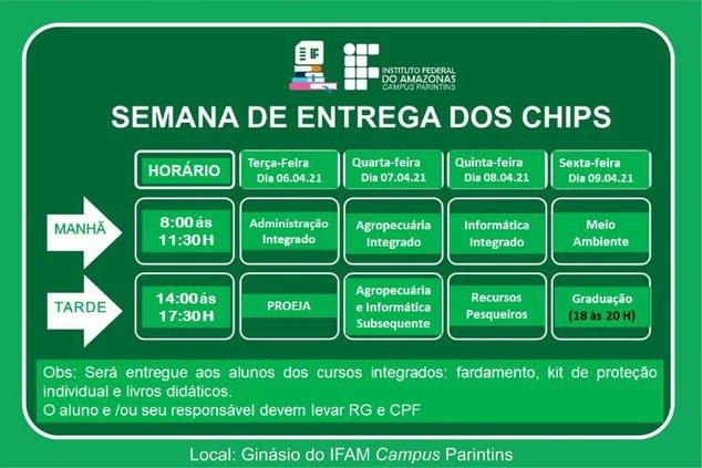 ALUNOS RECEBERÃO CHIPS PARA GARANTIR ESTUDO REMOTO