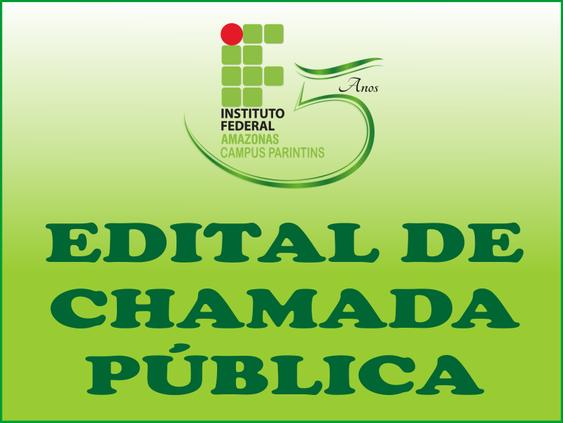 Edital de Chamada Pública Nº01/2017