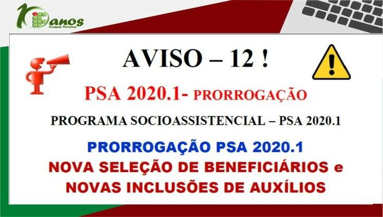 Edital para concessão de benefícios do Programa Socioassistencial é prorrogado