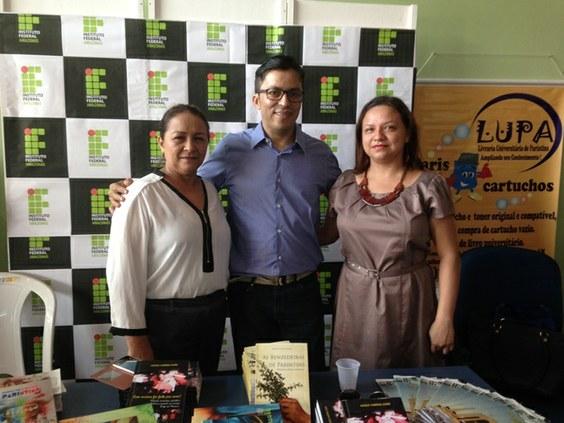 IFAM Campus Parintins presente na 1ª Feira do Livro Comunitária