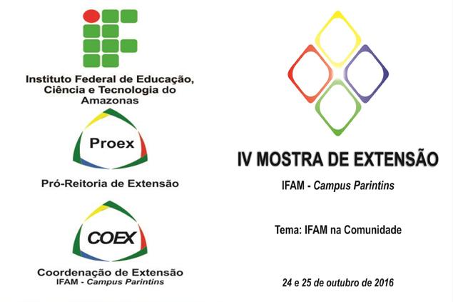 IV Mostra de Extensão do IFAM Campus Parintins