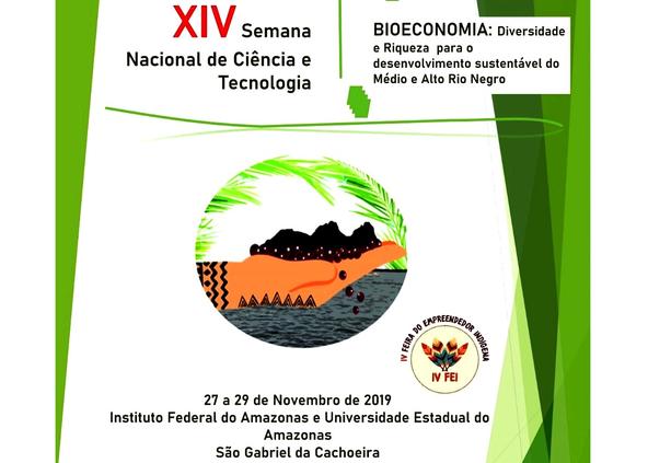 XIV Semana de Ciência e Tecnologia e IV Feira do Empreendedor Indígena.