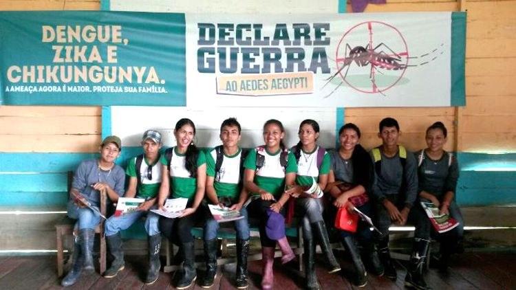 IFAM campus Tabatinga realiza campanha de combate ao Aedes aegypti