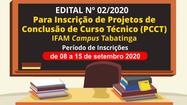 IFAM Tabatinga abre inscrições para Projeto de Conclusão de Curso Técnico (PCCT)