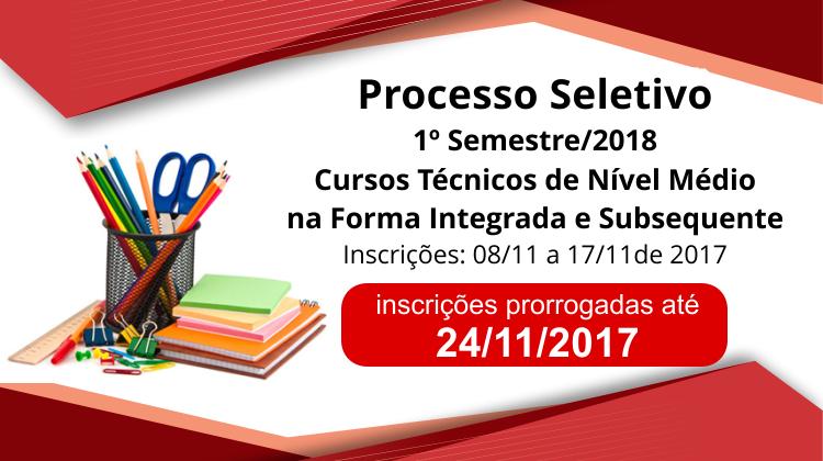 Processo Seletivo IFAM 2018 (Integrado e Subsequente)