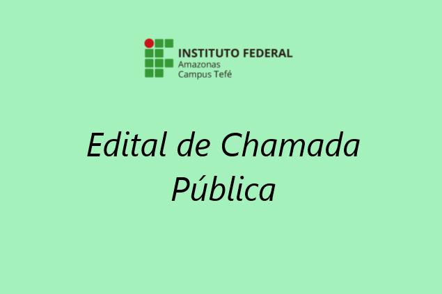 CHAMADA PÚBLICA Nº 001/2020 - Dispensa de Licitação Nº 05/2020