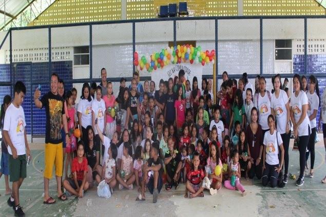 IFAM Campus Tefé realiza ação na Comunidade de Agrovila