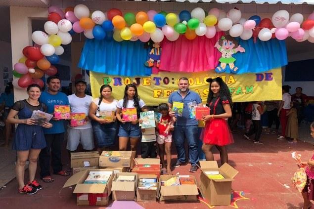 IFAM Campus Tefé realiza ação na Comunidade de Santo Isidoro