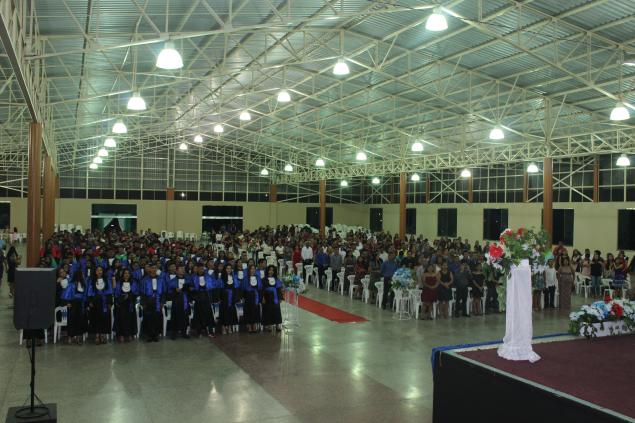 IFAM Tefé realiza cerimonial de formatura de 150 técnicos.