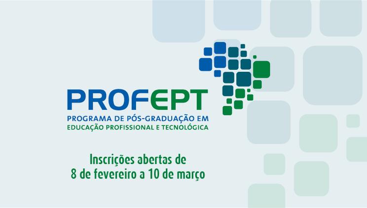 Inscrições abertas para o Mestrado Profissional em rede
