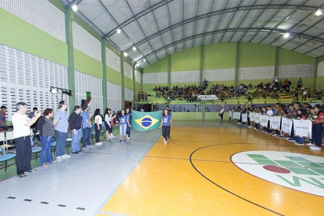 Abertura dos Jogos do Instituto Federal do Amazonas