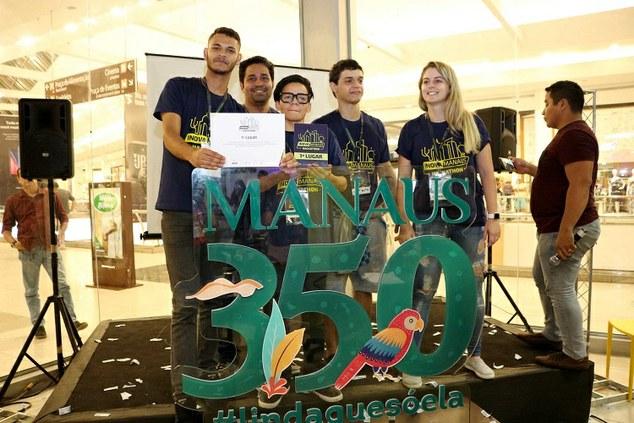 Aluno do Ifam é integrante da equipe vencedora da Maratona Hackathon, com projeto voltado para melhorias na área da saúde.