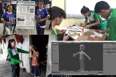 Trabalhos têm como temas as realidades virtual e aumentada e serão apresentados durante a 11ª edição do Computer on the Beach, em Santa Catarina.