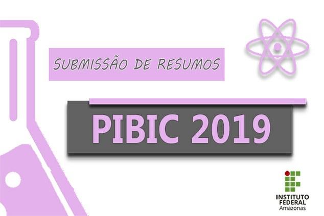 ANAIS do PIBIC 2019
