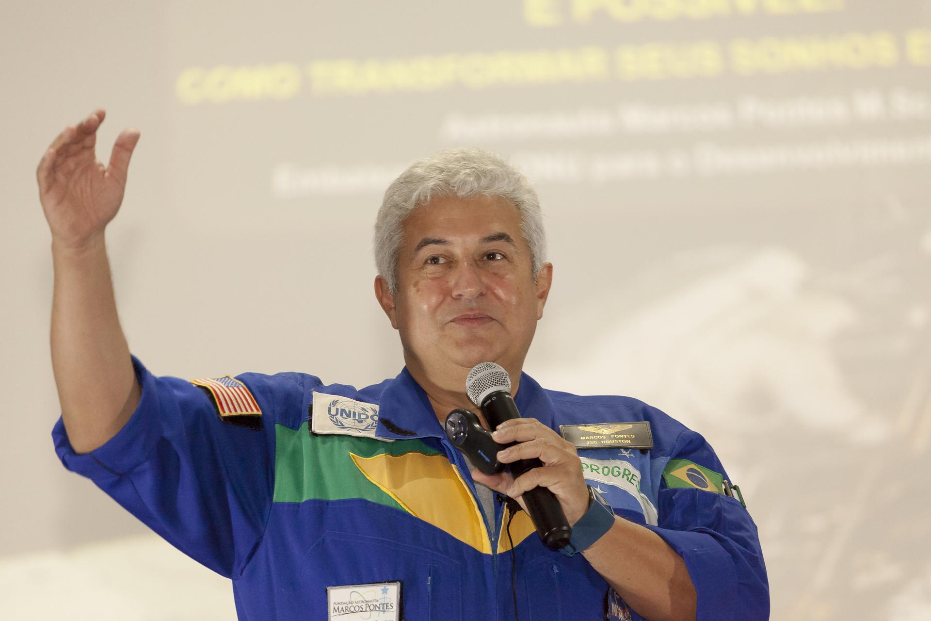 Astronauta Brasileiro E Futuro Ministro De Ciência E