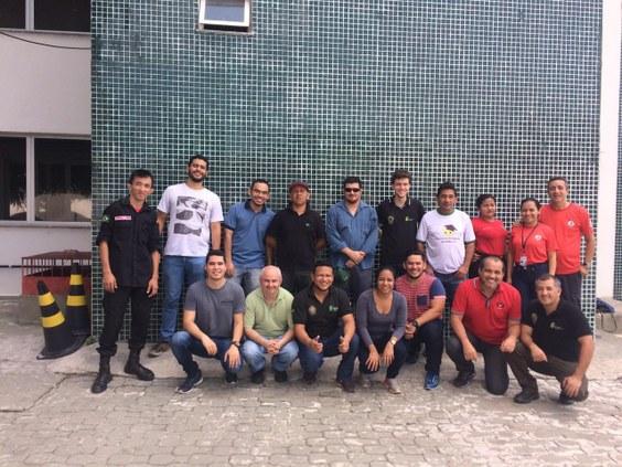 Brigada de Incêndio da Reitoria do IFAM recebe treinamento