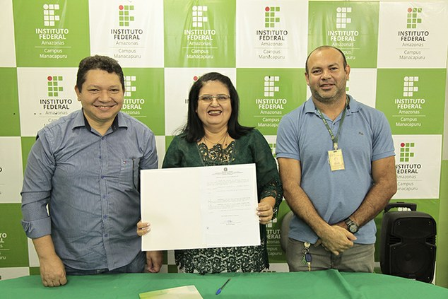 Cerimônia marca a transição de cargo de Diretor geral do Campus Avançado Manacapuru.