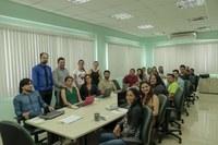 Evento foi realizado na sede da Reitoria e ministrado pelos instrutores Nadia Garlet e Fagner Costa