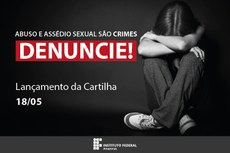 Campanha contra o Abuso sexual.