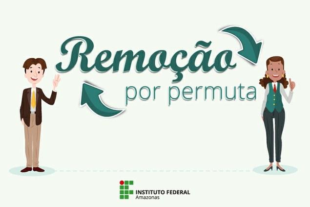 Consulta pública de interesse em remoção por permuta.