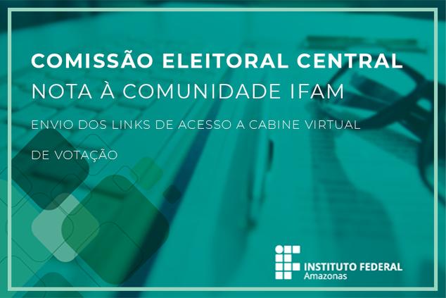 Envio dos links de acesso a cabine virtual de votação.
