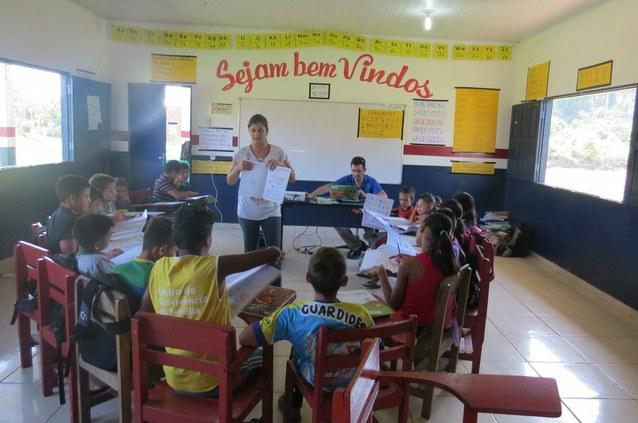 IFAM desenvolve projeto sobre fotossíntese em escolas de Manacapuru