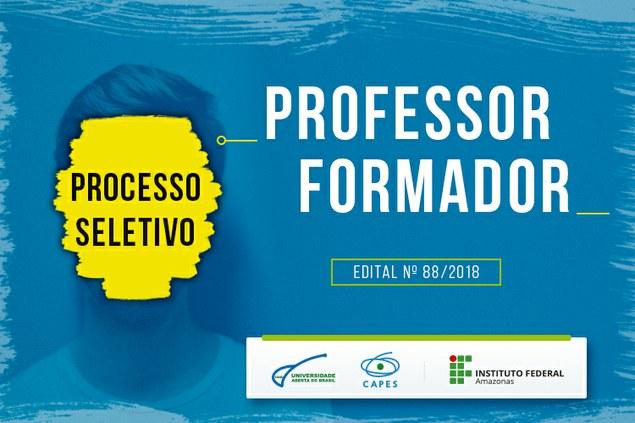 INSCRIÇÕES PRORROGADAS!!! EDITAL N° 88 - UAB