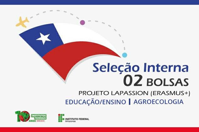 Instituto Federal do Amazonas (IFAM) disponibiliza vagas para seus alunos participarem de projetos em São Luiz – MA através do Projeto LAPASSION.