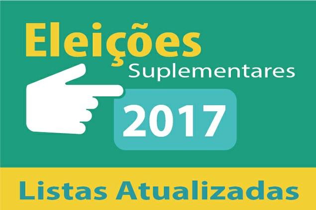 Listas de recrutamento para Eleições 2017 atualizadas
