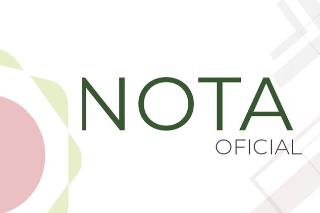 Nota oficial sobre despesas de pessoal na Rede Federal de Educação Profissional e Tecnológica