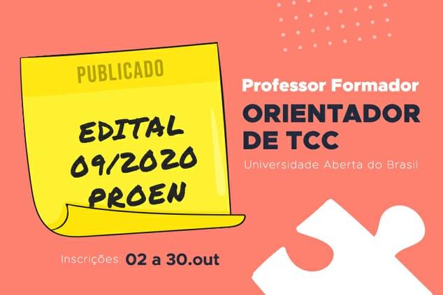 Processo seletivo para seleção de professores formadores - Orientadores de TCC UAB