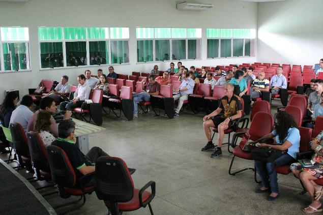 Reitoria Itinerante realiza sua primeira reunião de 2017 na capital