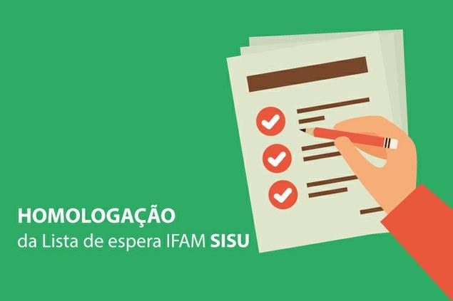 Resultado final da lista de espera do IFAM para vagas do Sisu
