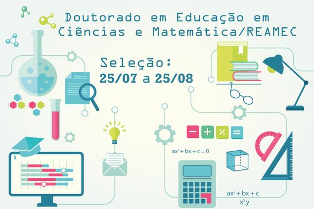 Seleção para Programa de Doutorado em Educação em Ciências e Matemática