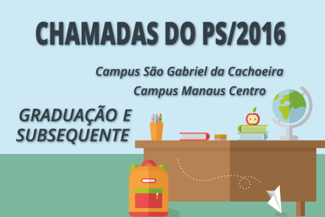 Vagas para Campus Manaus Centro e S. Gabriel da Cachoeira